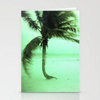palm Stationery Cards featuring Palm by Julia Aufschnaiter