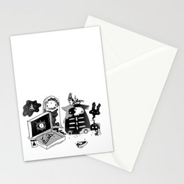 Halloween Flavored Pizza Stationery Cards