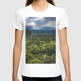 Steam Rising from Masaya Volcano in the Rainforest of Nicaragua T-shirt