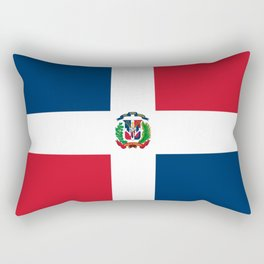 Bandera de la Republica Dominicana Rectangular Pillow