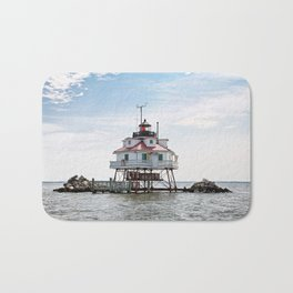 Thomas Point Lighthouse Bath Mat