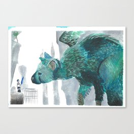 Trico Canvas Print