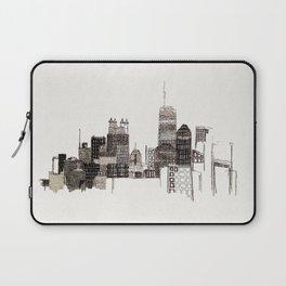 unfinished skyline Laptop Sleeve