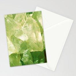 Green Gems Stationery Cards