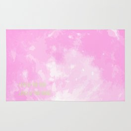 Love By The Moon Pink Rug
