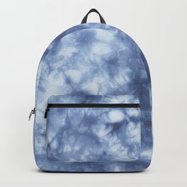 Blue Boho Tie Dye  Backpack