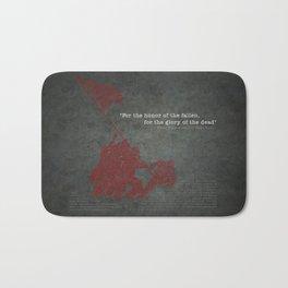 Iwo Jima Bath Mat