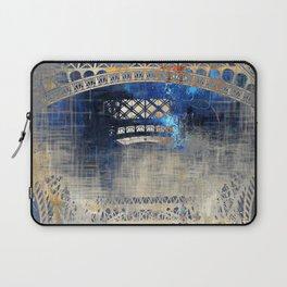 Blue Night in Paris Laptop Sleeve