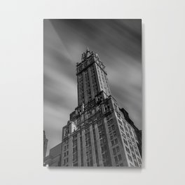 The Sherry-Netherland hotel overlooks Central Park from 5th Ave Metal Print