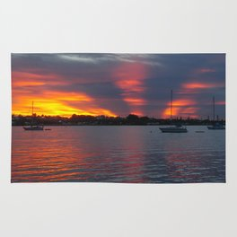 Jensen Beach Sunset Rug