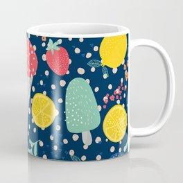 Colorful summer food pattern Coffee Mug