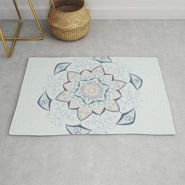 Jin Blue Mandala Rug