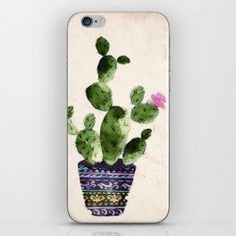 Blooming Cactus iPhone Skin
