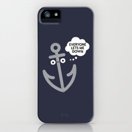 That Sinking Feeling iPhone Case