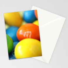 Colourful M&M's Stationery Cards