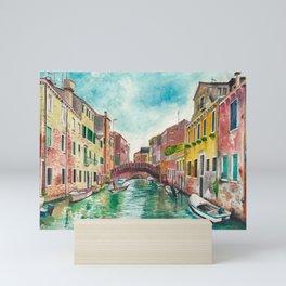 Venezia Watercolor Mini Art Print