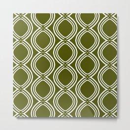 Hatchees (Olive Green) Metal Print