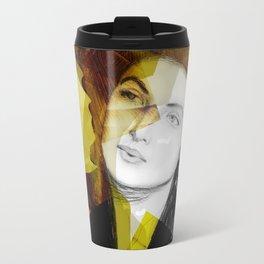 Ingrid Bergman Gold Travel Mug