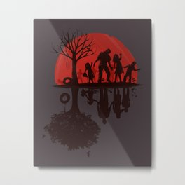 A Family Once (dark version) Metal Print