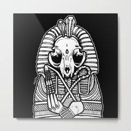 Tutancatmun Metal Print