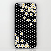 daisy iPhone & iPod Skins featuring DAISY by Monika Strigel®