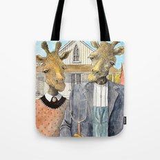 American Giraffic Tote Bag