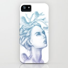 Shadows of My Soul (A Portrait of a Life's Lingering Past) iPhone Case