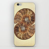 minerals iPhone & iPod Skins featuring HISTORY IN MY HAND by Catspaws