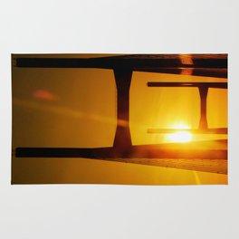 Sunset at the Bridge Rug