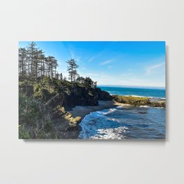 Coastal Cove - Oregon Metal Print