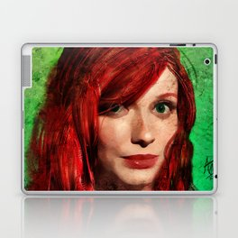 Christina Hendricks Painting Laptop & iPad Skin