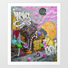candy house Art Print