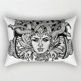 Medusa Mandala Rectangular Pillow