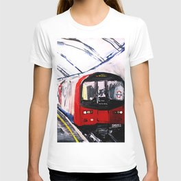 London Underground Northern Line Fine Art T-shirt