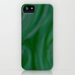 Green SWIRL iPhone Case