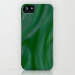 Green SWIRL iPhone Case
