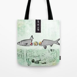 fresh sushi Tote Bag