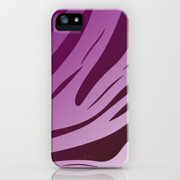 Delight pink lines Ethnic II tiger iPhone Case