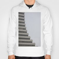 building Hoodies featuring Building by RMK Photography