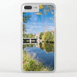 Danube reflection Clear iPhone Case