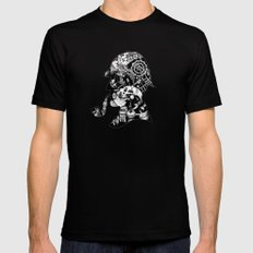 Mr. Holmes Mens Fitted Tee Black SMALL