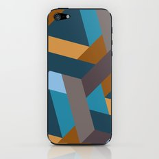 Contrasts in the city iPhone & iPod Skin