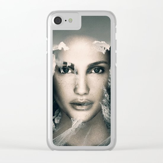 Spirit Of The Mountain Clear iPhone Case