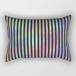 Black Strips. Fashion Textures Rectangular Pillow