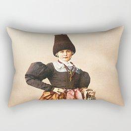 European peasant Rectangular Pillow