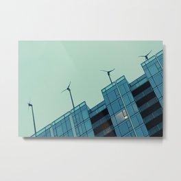 Indigo Wind Metal Print