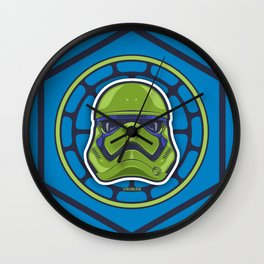 First Order TMNT Stormtrooper - Leonardo Wall Clock