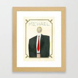 the reader Framed Art Print