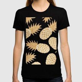 GOLD---Pineapple T-shirt