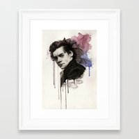 harry styles Framed Art Prints featuring Harry Styles by bellavigg
